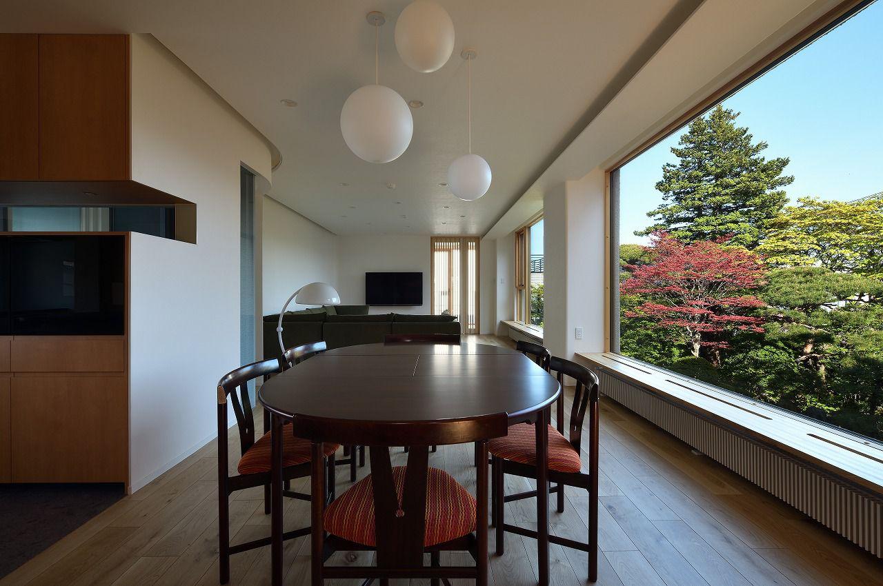 札幌市 庭のある家