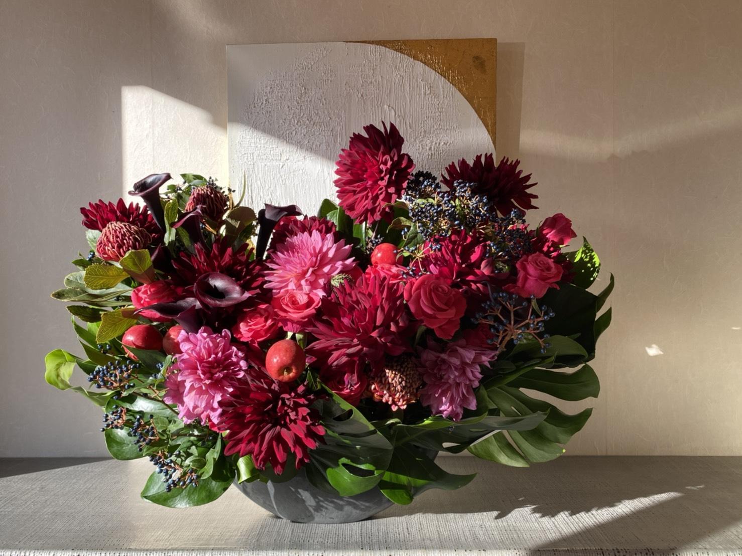 EAA事務所開設のお祝いのお花