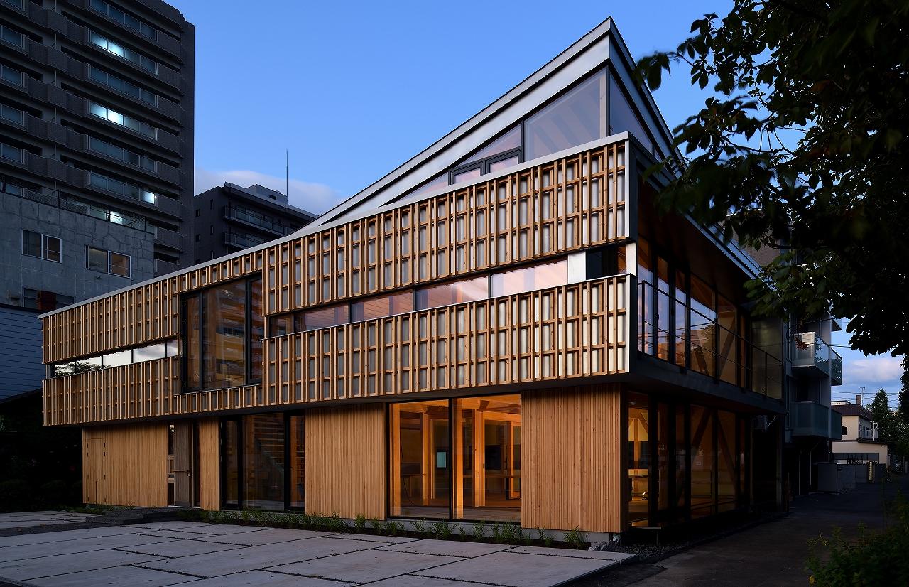 弊社社屋がWood Design & Building Awards  [Citation Award] を受賞しました。
